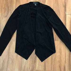 International Concepts Long Sleeve Cardigan Black